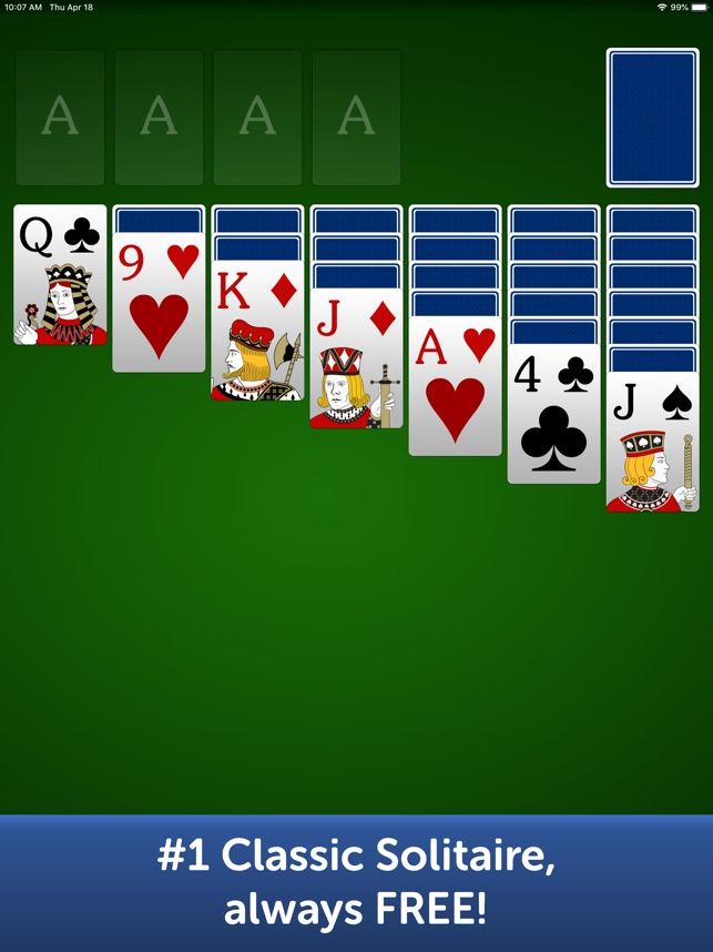classic solitaire on windows 10