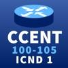 CCENT ICND1 100-105 R&S Exam - iPhoneアプリ