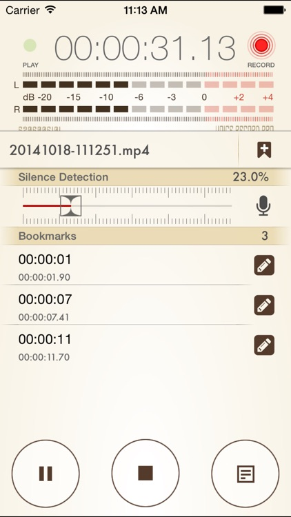 Voice Record Pro 7 Full screenshot-1