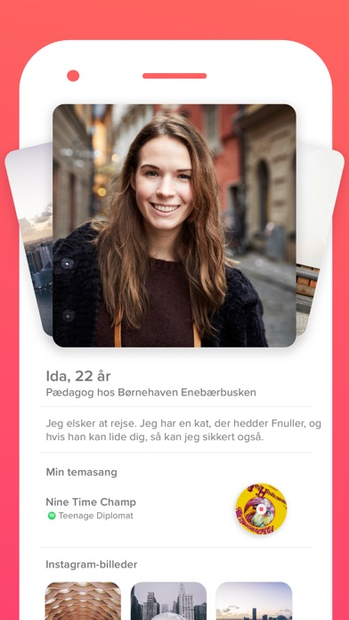 Screenshot for Tinder in Denmark App Store