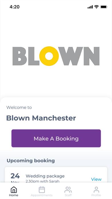 Blown Manchester