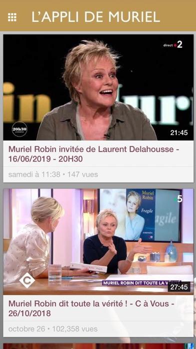 Screenshot #3 pour Muriel Robin