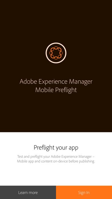 AEM Mobile Preflight for Windows