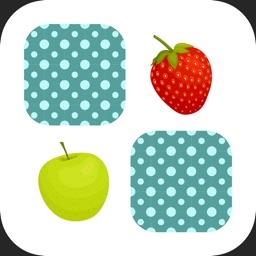 Fruits Pair Simple Memo