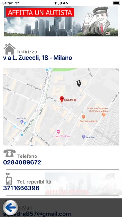 Screenshot of Affitta un Autista3