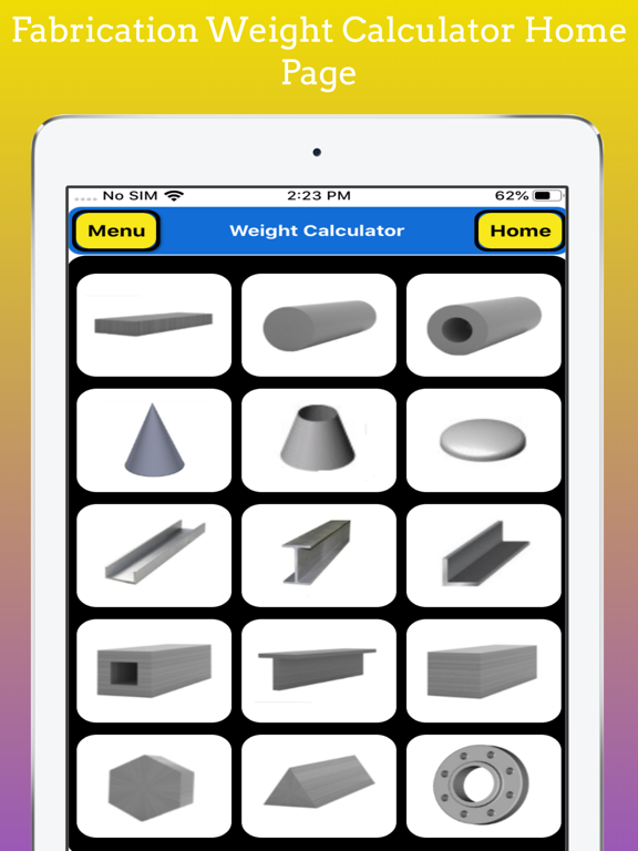 Fabrication Weight Calc Pro screenshot 11