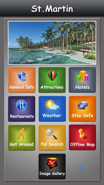 St Martin/Sint Maarten  Guide screenshot-0