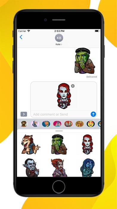 Myths and Legends Stickers screenshot 2