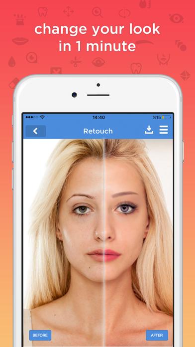 fixtouch - retouch & makeup screenshot one
