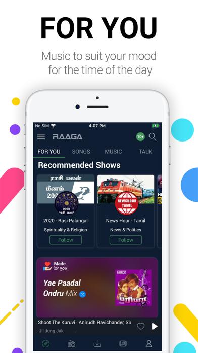 Raaga - A World of Music screenshot one