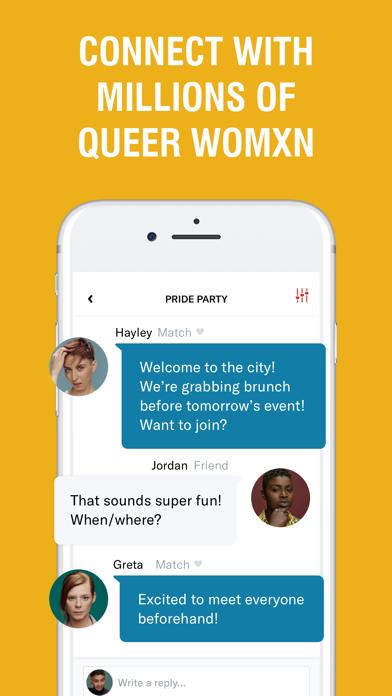 HER: Lesbian Dating & Chat App Screenshot