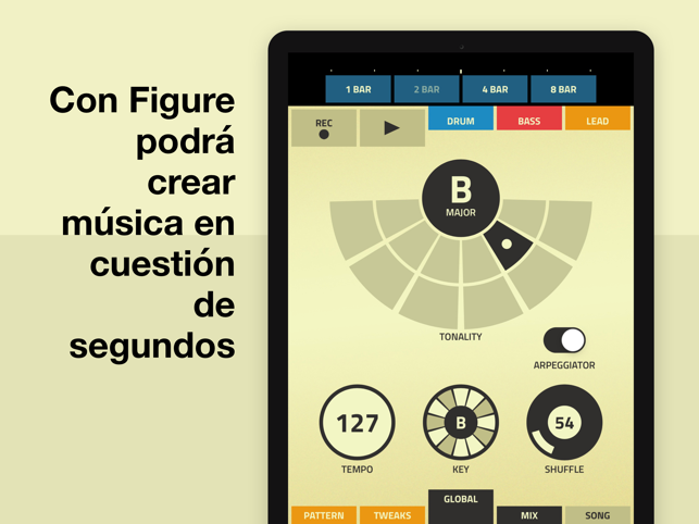 ‎Figure - Para crear música Screenshot
