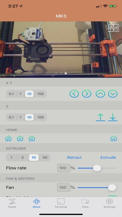 OctoPod for OctoPrint screenshot-3