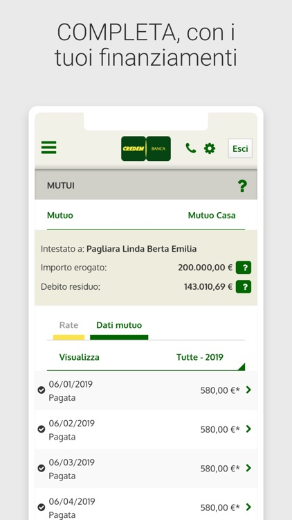 Credem Banca per privati screenshot-5