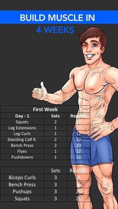 Workout & Fitness Exercises screenshot