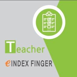 INDEX FINGER FOR TEACHER
