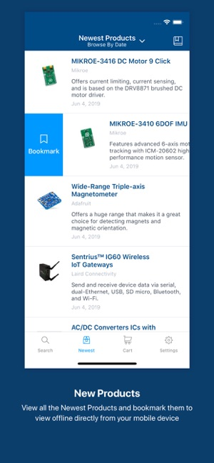 Mouser on the App Store
