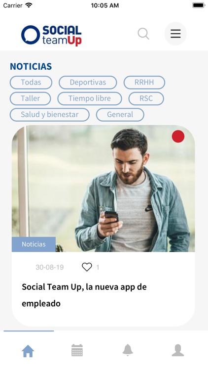 Social TeamUP screenshot-3