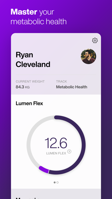Lumen - Metabolism Tracker Screenshots