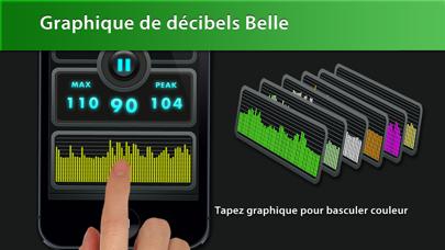 Screenshot #2 pour Decibel Meter Plus Pro