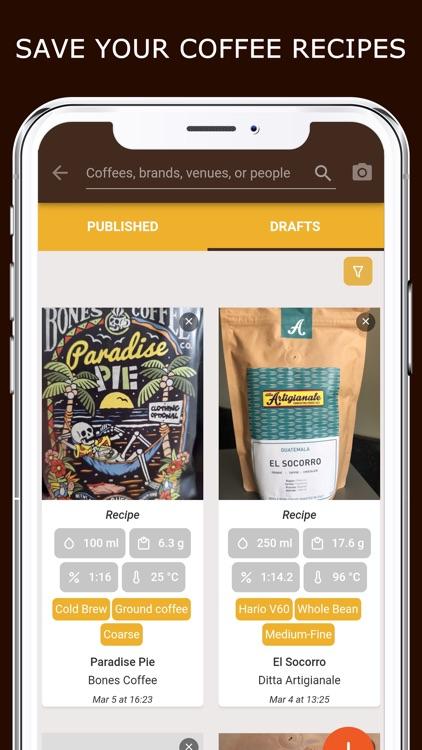 Coffeely - Your Coffee App screenshot-4