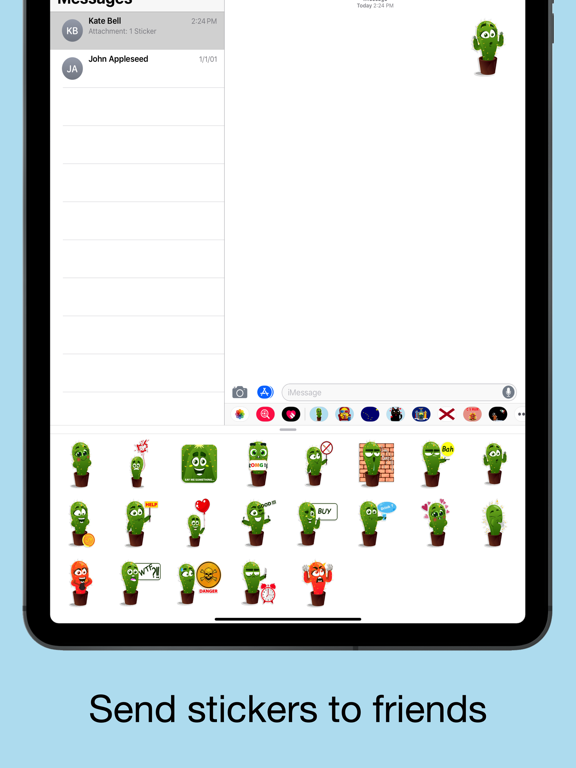 Cactus emoji - funny plants screenshot 9