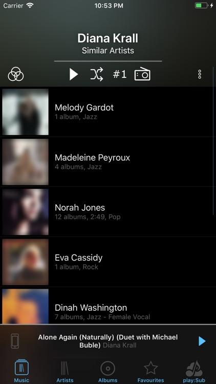 play:Sub Music Streamer screenshot-5