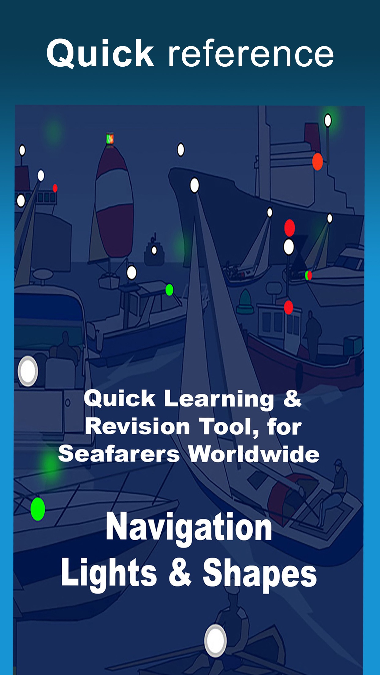 ColRegs: Nav Lights & Shapes Screenshot