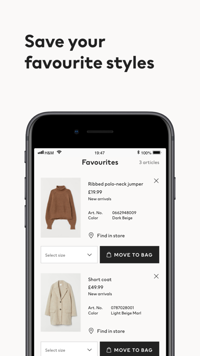 messages.download H&M - we love fashion software