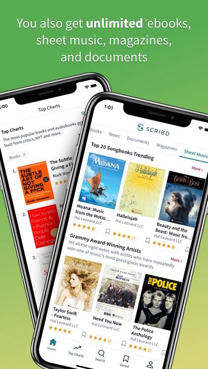 Scribd - audiobooks & ebooks screenshot-4