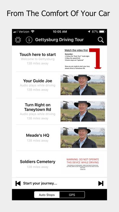 Gettysburg Driving Tour Screenshot