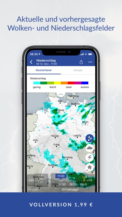 WarnWetter screenshot-3