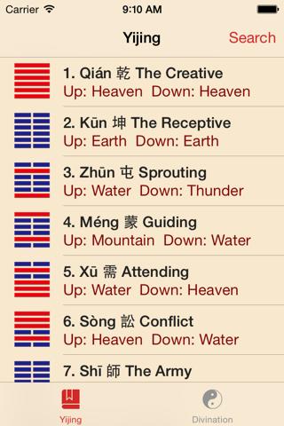 Yijing Navigator - náhled