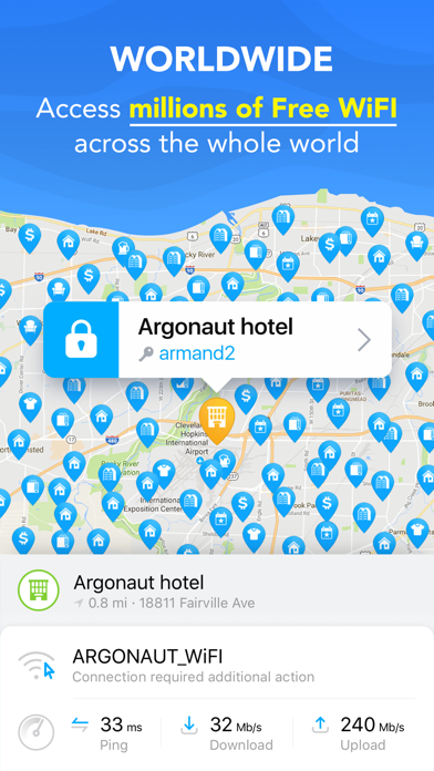 WiFi Map: Get WiFi, VPN, Proxy Screenshot