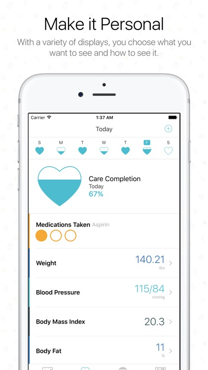 The Diary Health App screenshot-1