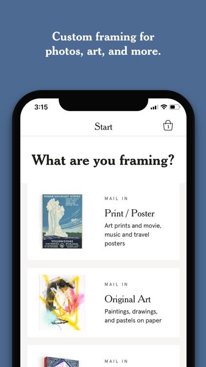 Framebridge - Custom Frames screenshot-0