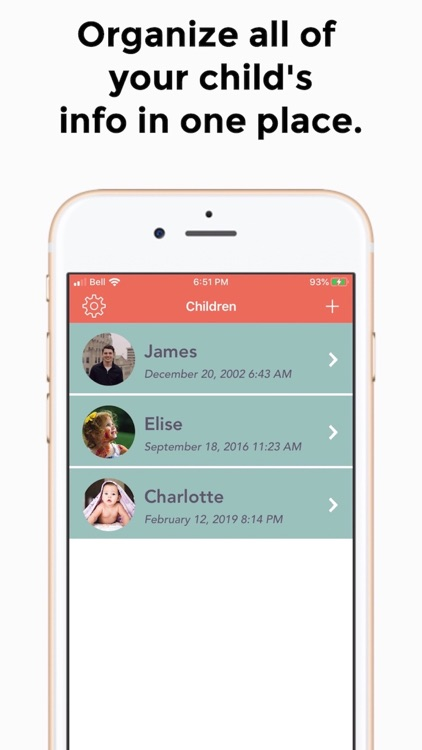 Kidcentric: Baby Tracker & Log screenshot-0