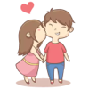 Love Stickers Pack for Texting