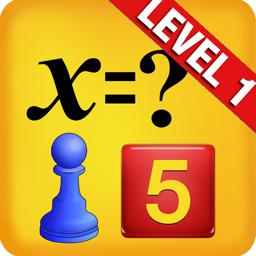Ícone do app Álgebra fácil para crianças