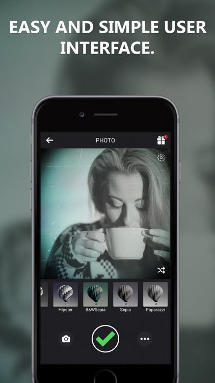 Black and White Camera for IG screenshot-3