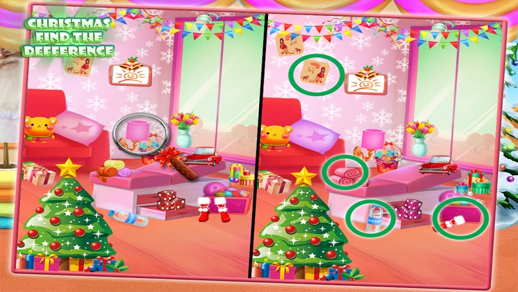 Christmas Find Difference Game screenshot-4