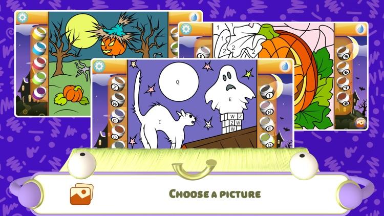 Color by Numbers - Halloween screenshot-0