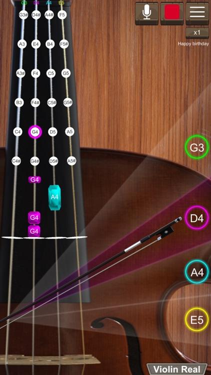 Violin Real screenshot-0