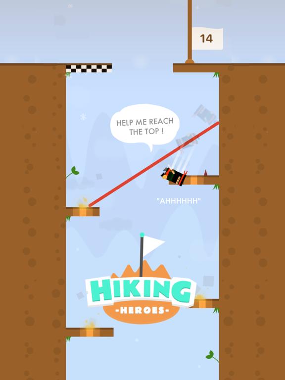 Ipad Screen Shot Hiking Heroes ! 0
