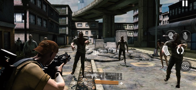 ‎Zombie Gunfire Screenshot