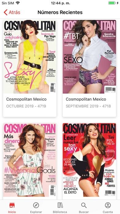 Screenshot for Cosmopolitan México in Sweden App Store