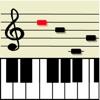 ピアノ楽譜の譜読み練習アプリ