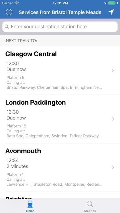 Train Beacon Train Times