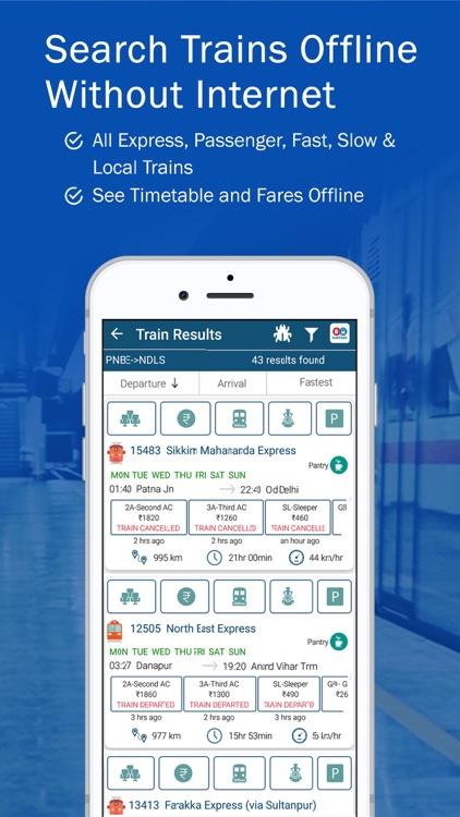 PNR, Live Train Status & Metro screenshot-4