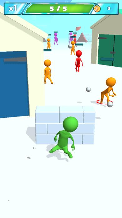 Snowballs fight screenshot 4